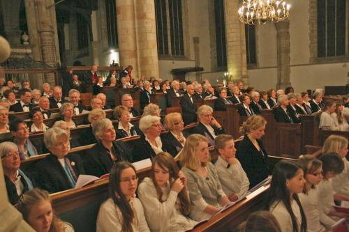 Toonkunst Plus Gouda zong mee met het benefietconcert: Liedjes voor Anna.